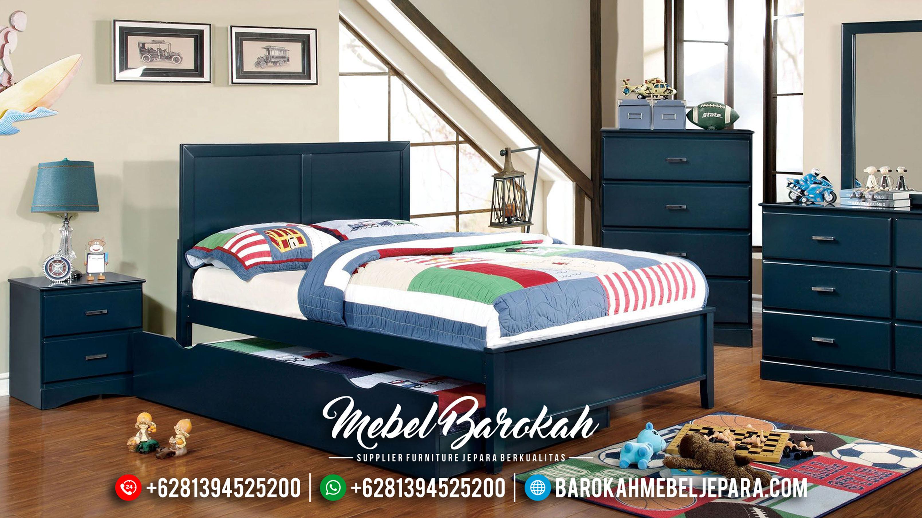 Set Kamar Anak Shabby Biru Duco MB-0346