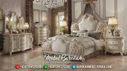 Spesial Tahun Baru Kamar Set Mewah Ukiran Duco Klasik MB-0348