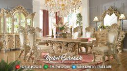 Superior Luxury Meja Makan Mewah Full Ornamen Ukiran Jepara MB-0330