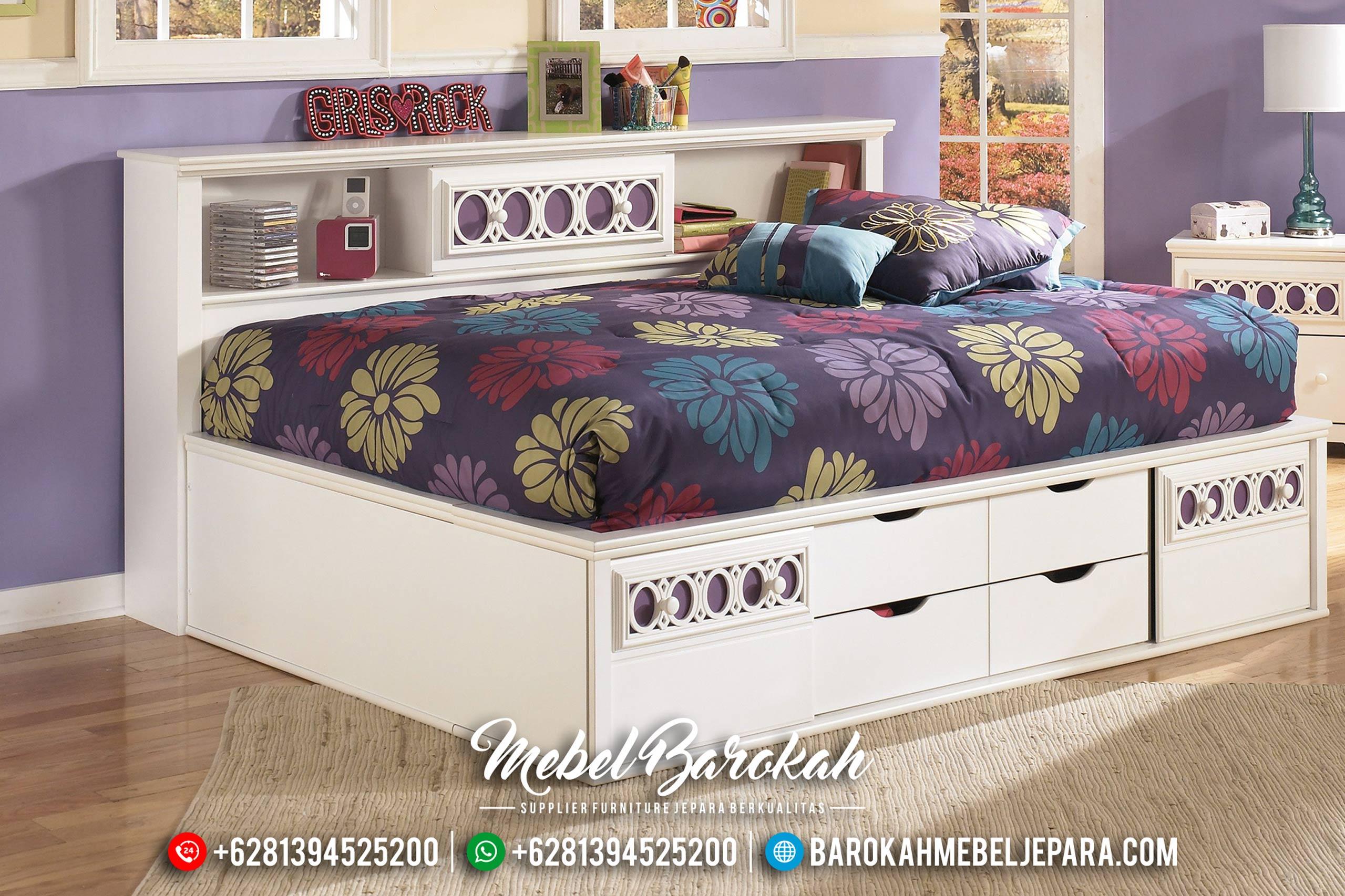 Harga Set Tempat Tidur Anak New 2020 Modern Minimalis Type MB-0447