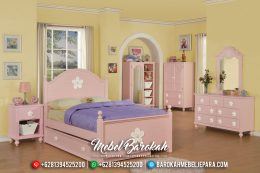 New Kamar Set Anak Perempuan Colorful Pink Duco Glossy MB-0441
