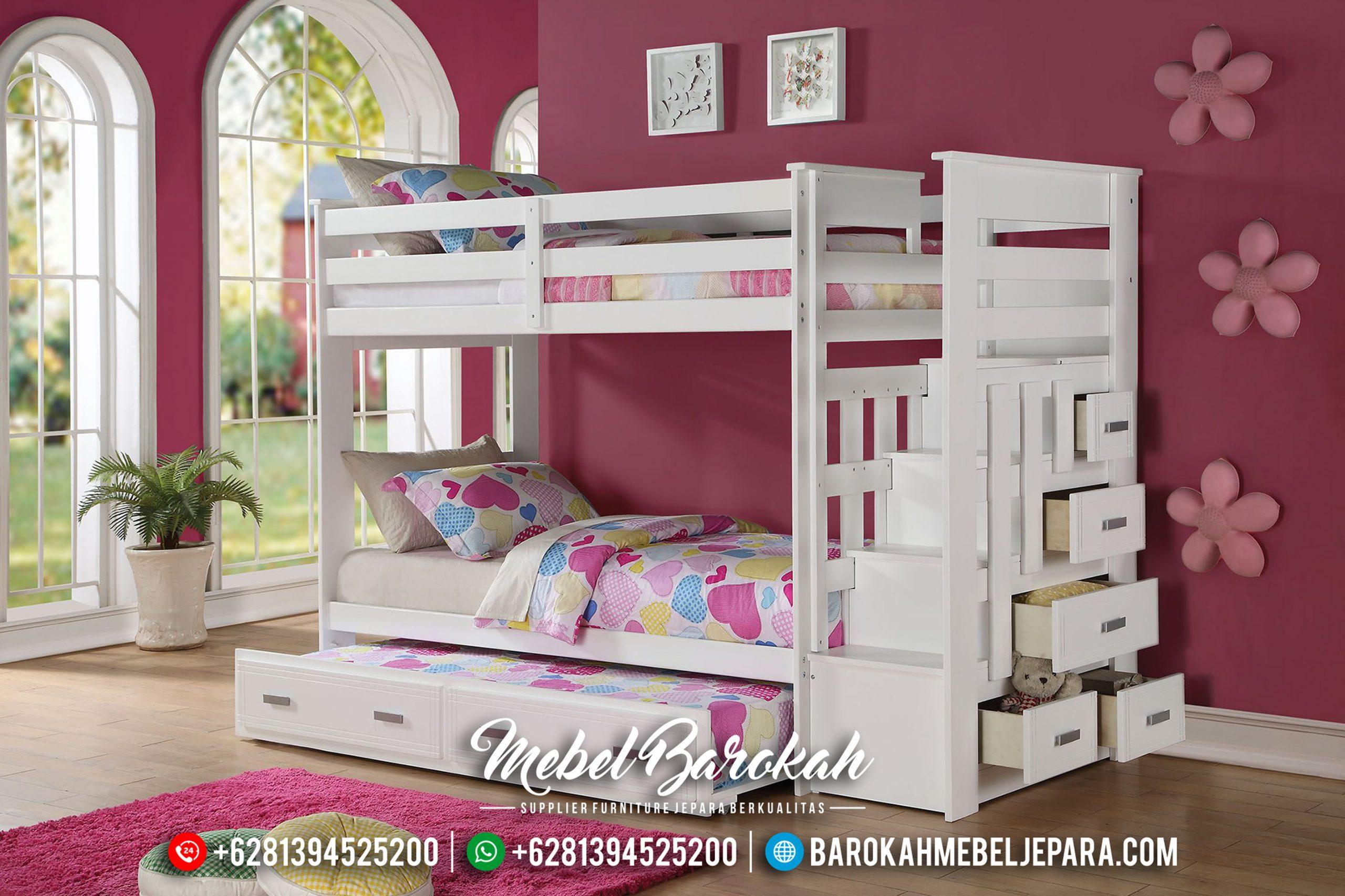 Set Kamar Anak, Dipan Tingkat Anak, Kamar Set Anak Jepara MB-0443
