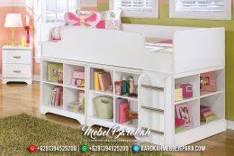 Set Kamar Anak Tingkat, Model Dipan Dan Rak Buku MB-0440