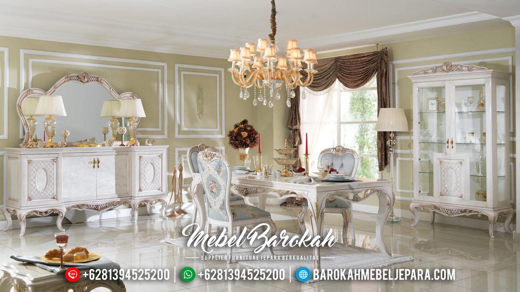 Jual Meja Makan Mewah Furniture Jepara MB-0462