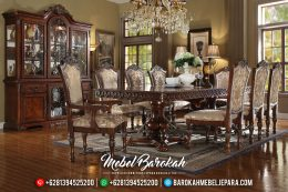 Meja Makan Mewah Jepara Furniture Luxury Online Trusted MB-0471