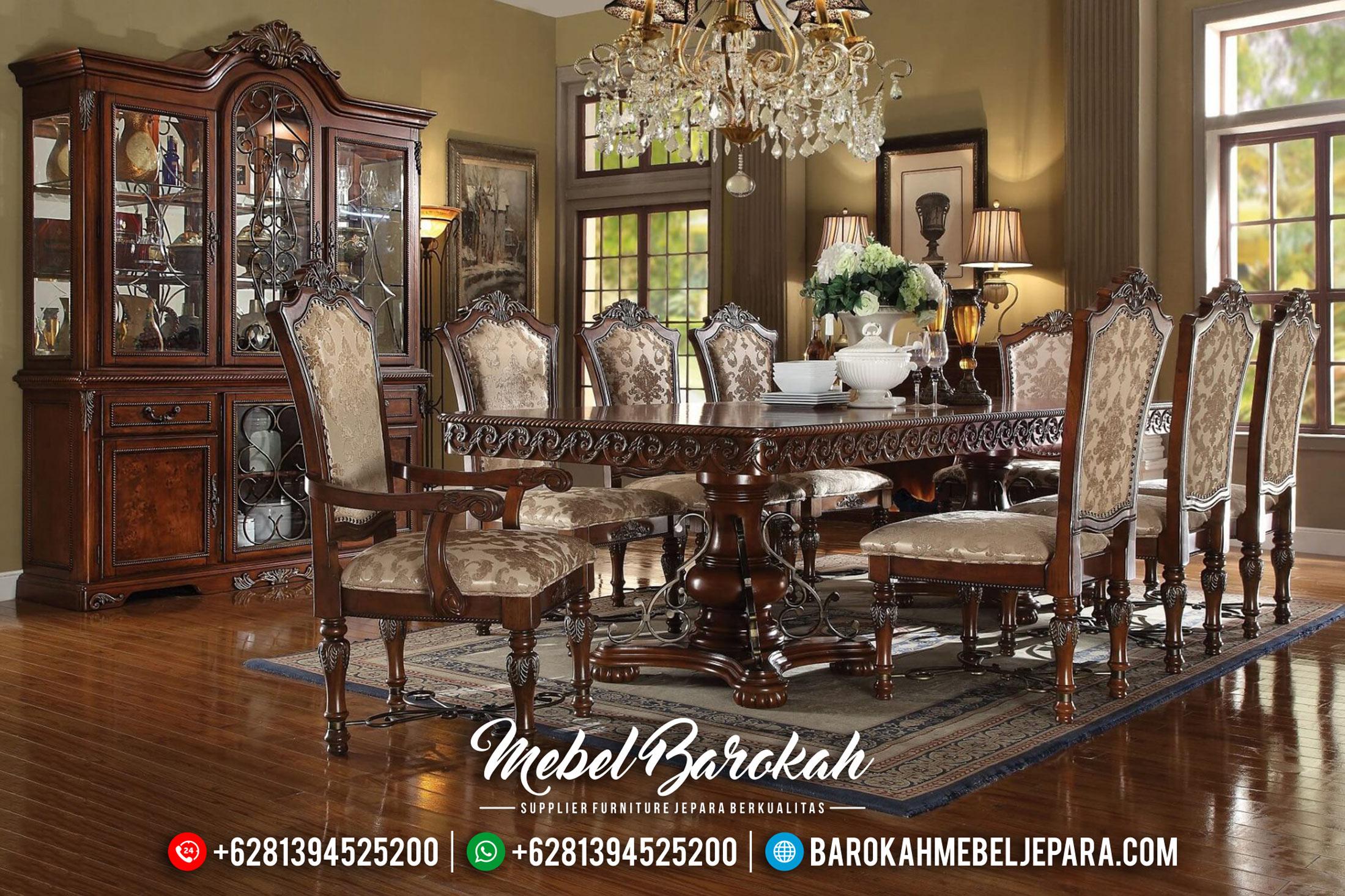 Meja Makan Mewah Jepara Furniture Luxury Online Trusted MB-0471