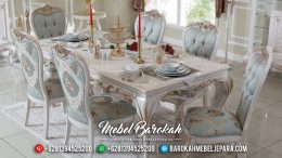 New Meja Makan Mewah Dining Table Sets Luxury Furniture Jepara MB-0460