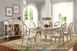 New Meja Makan Mewah Vendome Furniture Jepara Royal Luxury Classic MB-0489