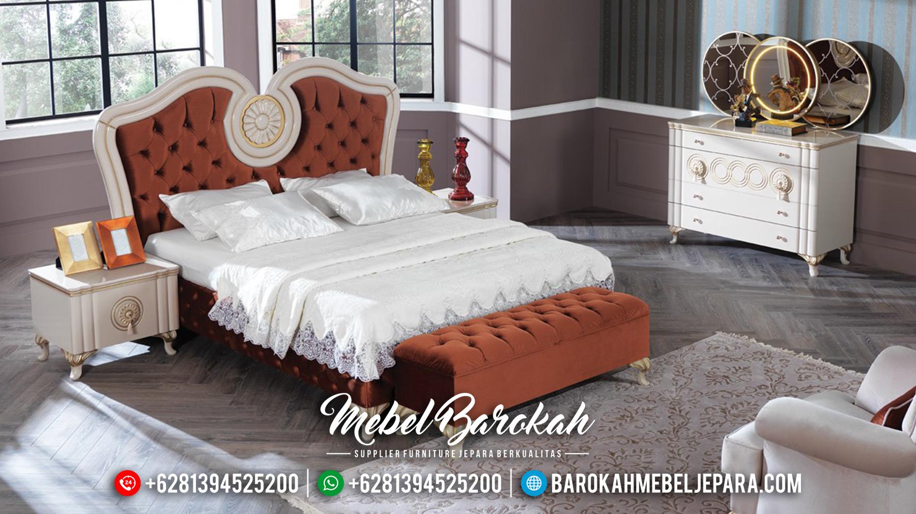 Desain Kamar Set Mewah Cat Duco Classic Luxury Furniture MB-0518