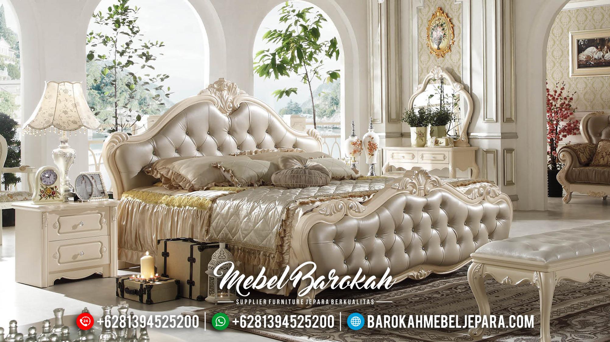 Jual Kamar Set Ukiran Classic Luxury Italian Carving Design MB-0513