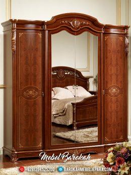 Lemari Pakaian Kayu Jati Room Vanity Kualitas Terbaik Tahan Lama MB-0507