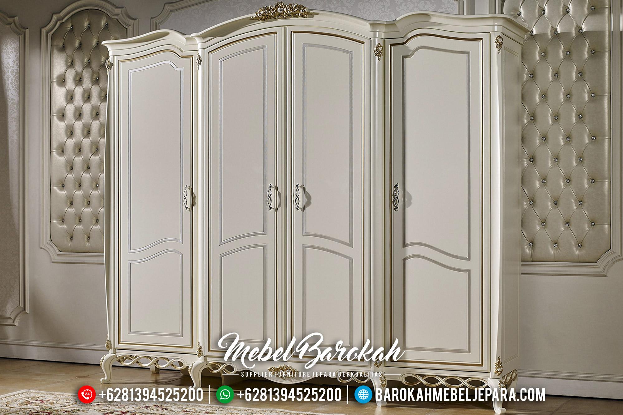 Lemari Pakaian Mewah Desain Kamar Set Luxury Jepara MB-0500