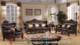 Sofa Tamu Mewah Ukiran Classic Duco Color Furniture Jepara MB-0508