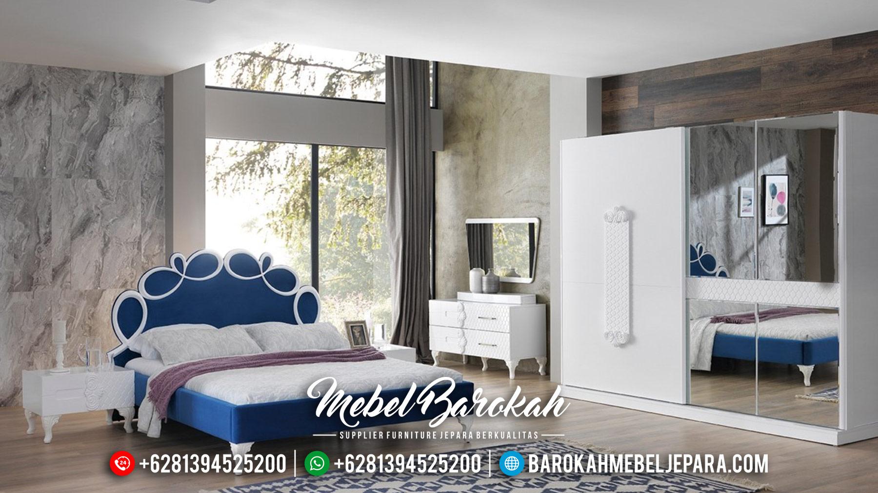 Book Now Kamar Set Mewah White Duco Color Luxury Mebel Jepara Termewah MB-0557