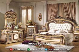 Classic Luxury Kamar Set Mewah, Tempat Tidur Ukiran New Design Barocco MB-0539