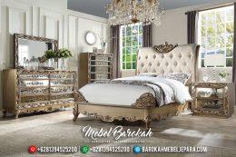Design Inspiring Set Tempat Tidur Mewah Versailles Luxury Carving Mebel Jepara Terbaru MB-0582