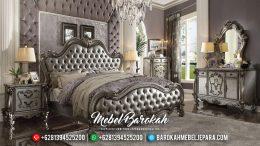 Elegant Style Kamar Set Ukiran Mewah Luxury Silver Champagne Color Glossy Coating MB-0560