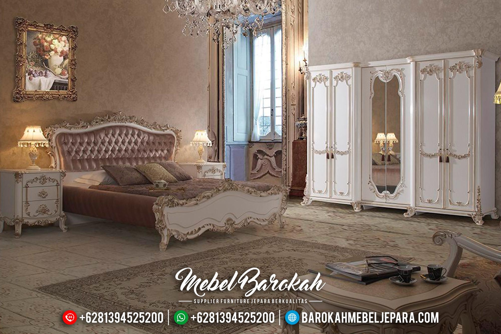 Harga Tempat Tidur Mewah Luxury Classic New Model Mebel Jepara MB-0544