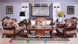 Jual Sofa Tamu Kayu Jati Mewah Europe Luxury Style Hargaa Terjangkau MB-0525