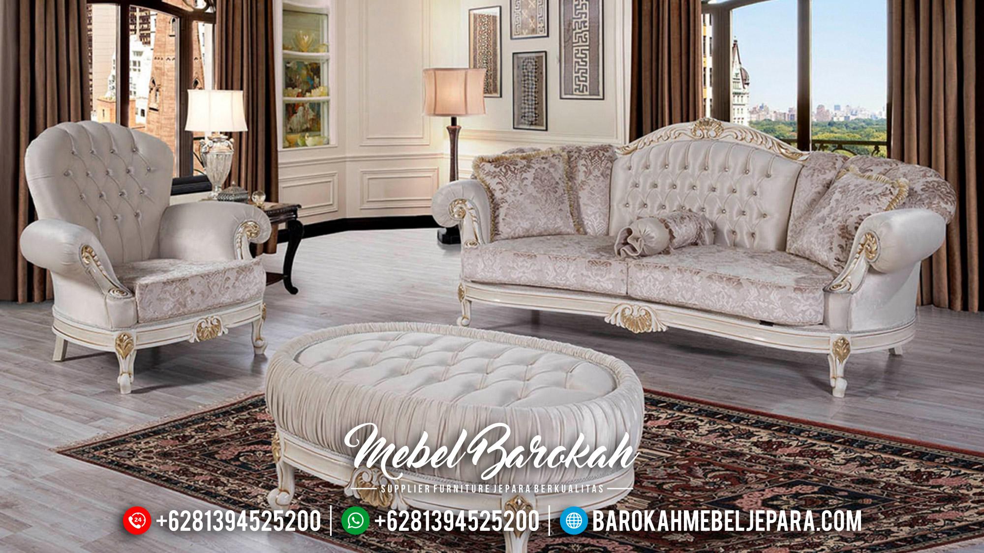 New Model Sofa Tamu Mewah Luxury Carving Furniture Jepara Terbaru MB-0579