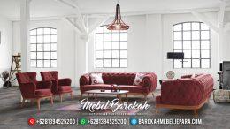 Sofa Tamu Minimalis Jati Harga Murah Best Seller 2020 Barokah Mebel Jepara MB-0529