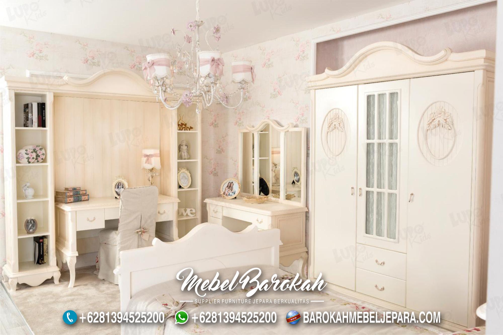 Desain Kamar Anak Cewek Cantik & Elegan MB-586