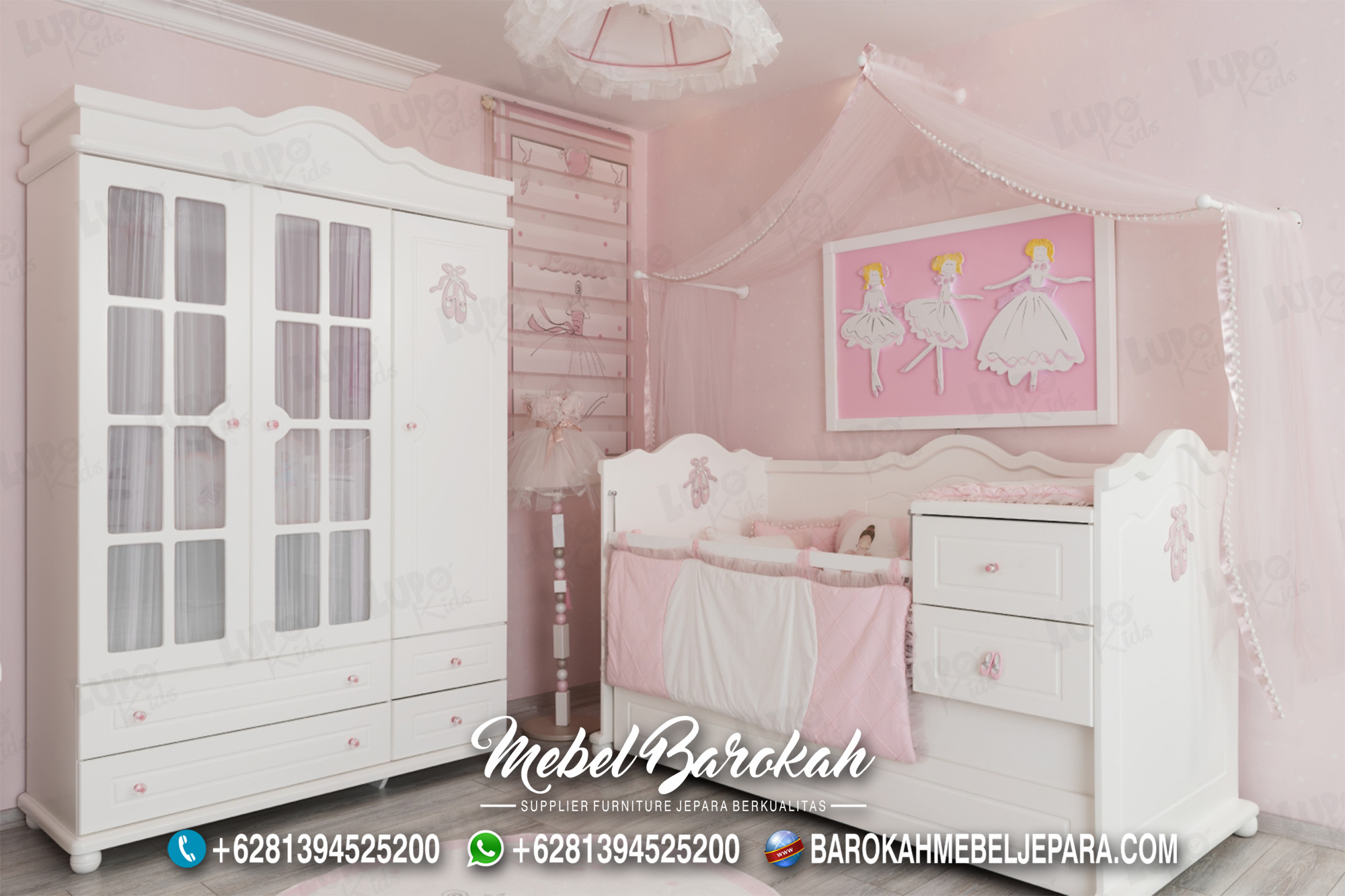 Dekorasi Kamar Bayi Yang Cantik & Nyaman MB-599