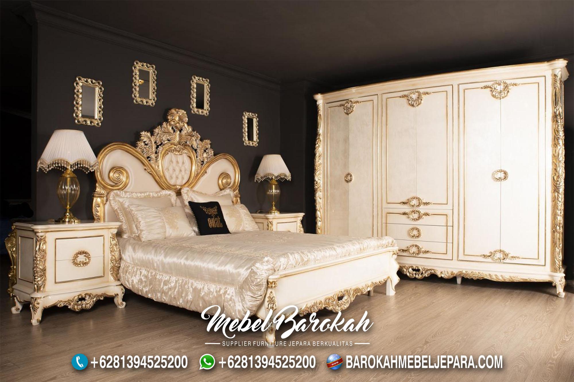 Inspirasi Dekorasi Desain Kamar Klasik Ukir Jepara Mewah MB-632