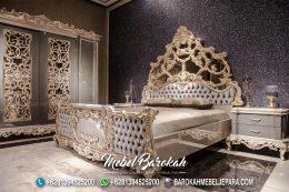 Set Tempat Tidur Raja Ukiran Jepara MB-645