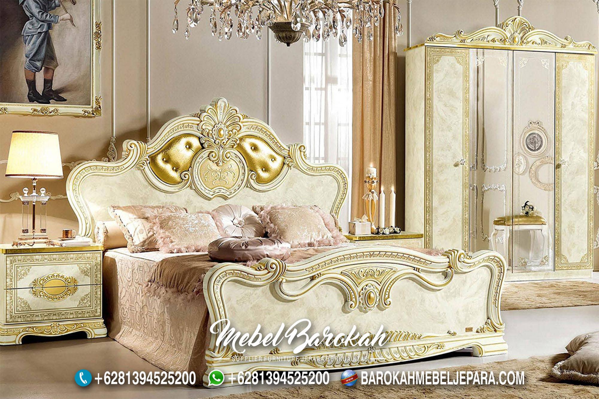 Model Kamar Tidur Ukir Sederhana Murah MB-644