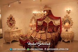 Tempat Tidur Klasik Ukir Jepara Cantik MB-649