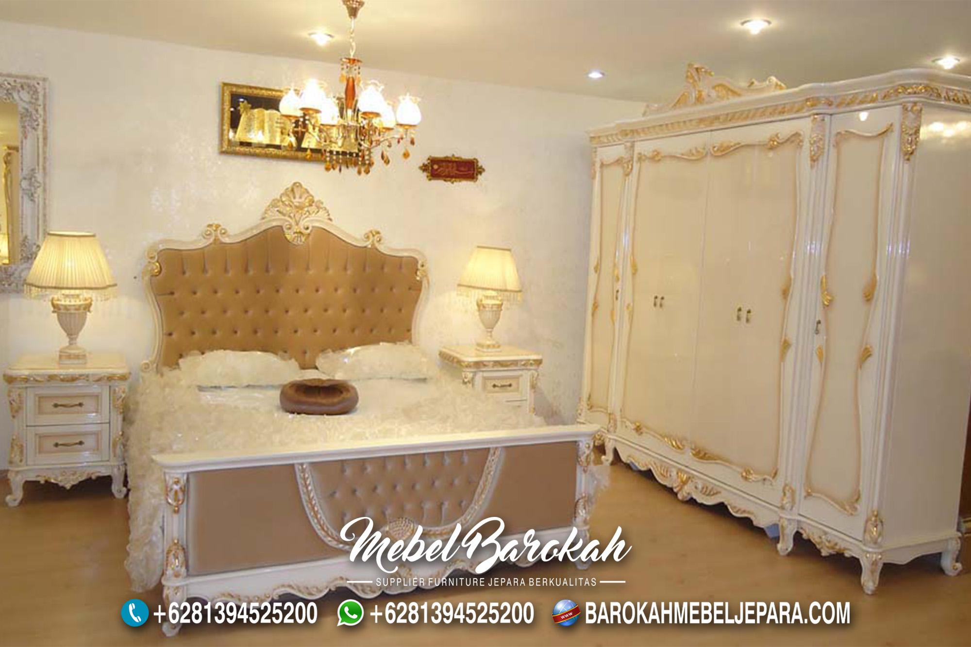 Desain kamar Luxury White Soft Lukis MB-651