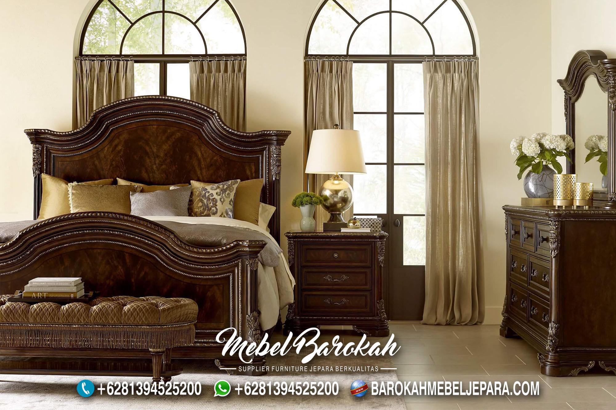 Tempat Tidur Jati Warna Salak Brown MB-639
