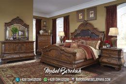 Jual Tempat Tidur Jati Brown Wallnut MB-662