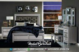 Desain Tempat Tidur Cowok Maskulin Elegan MB-643