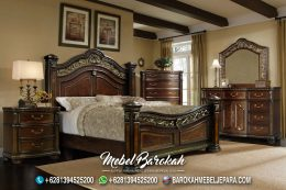Jual Bedroom Set Antik Kayu Jati MB-678