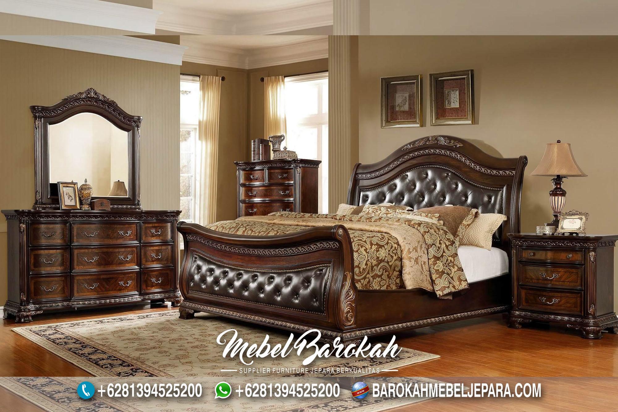 Bed Set Kayu Jati Robert Pattinson MB-682