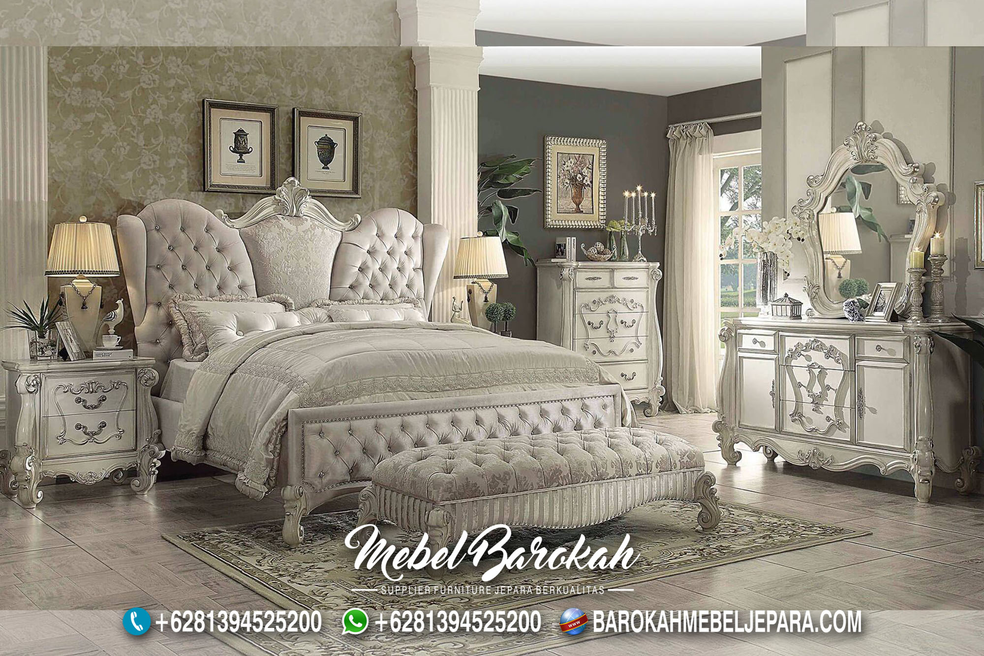 Bed Set Luxury Kourtney Kardashian Model MB-690