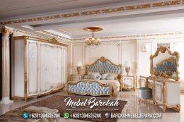 Jual Set Furniture Kamar Tidur Ukir Princes MB-693