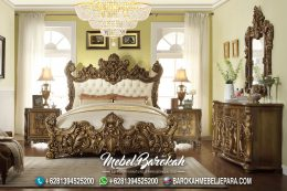 Bedroom Italian Luxury Casual Ukir MB-694