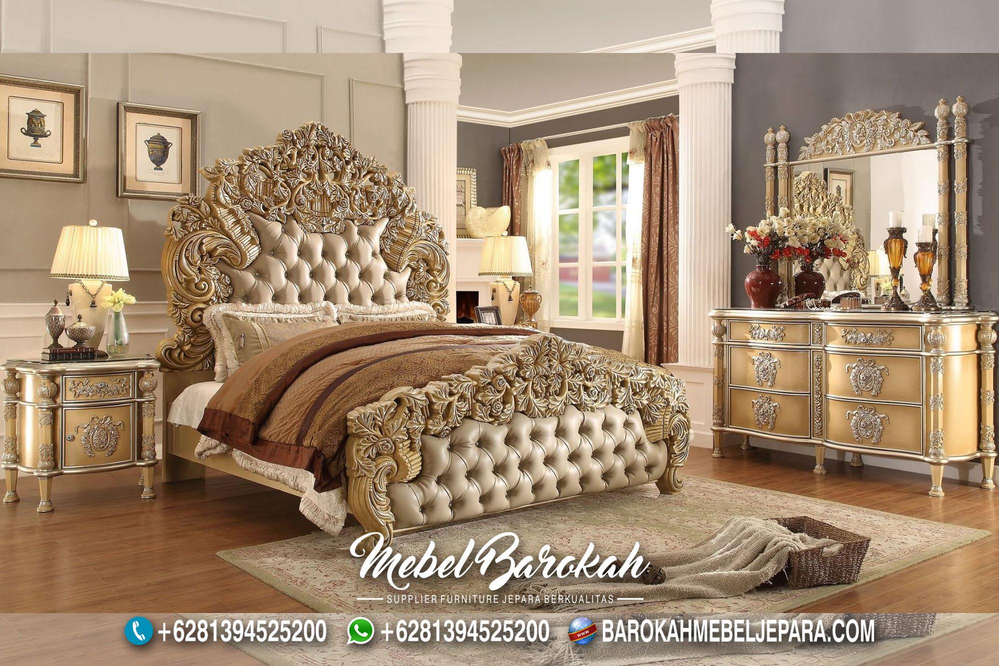 New Bedroom Set Desain Victorian Casual MB-702