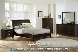 Desain Kamar Minimalis Natural Salak Brown MB-723