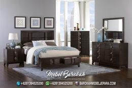 Set Tempat Tidur Minimalis Industrial Villa MB-724