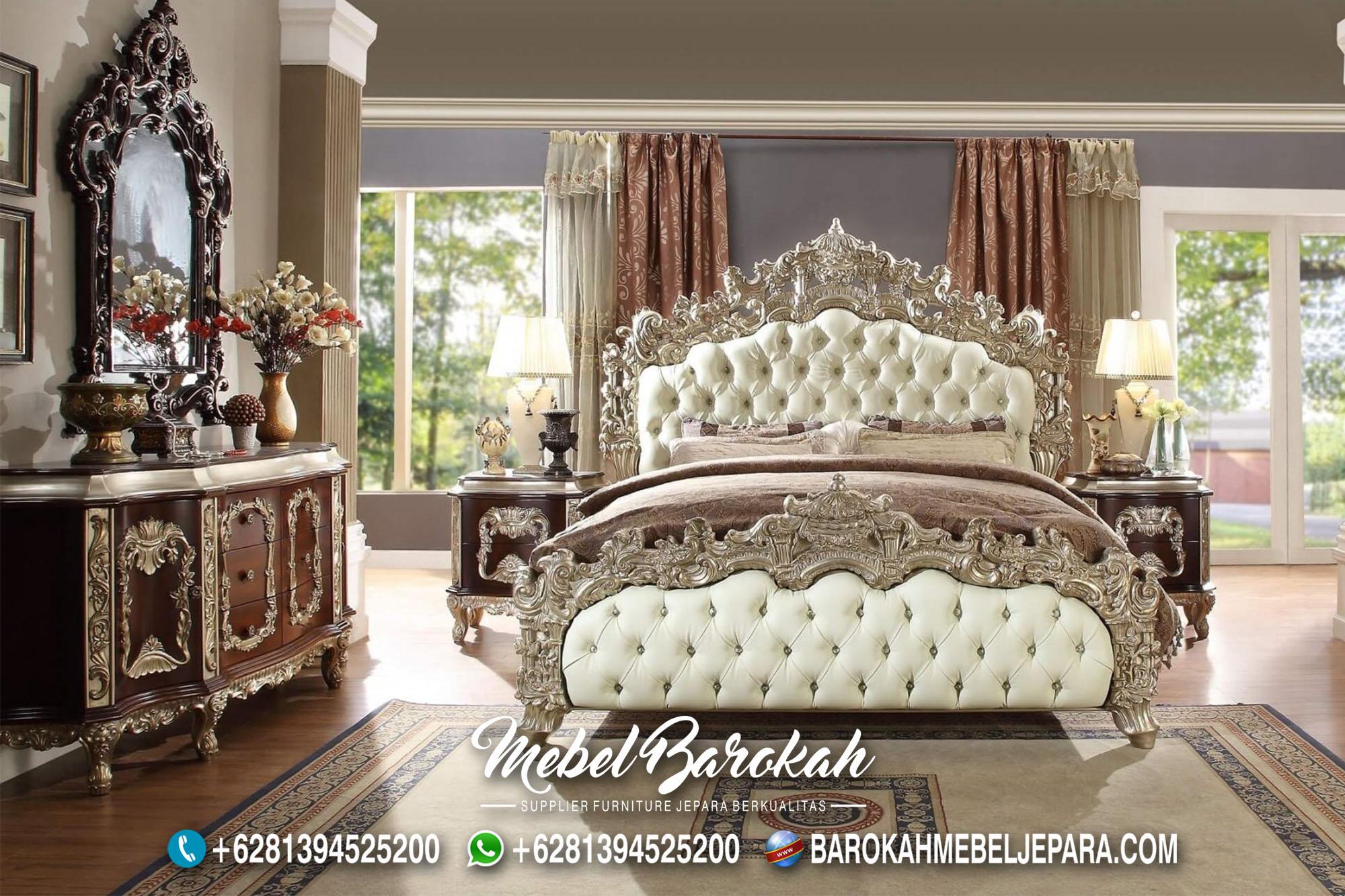 New Model Tempat Tidur Klasik Ukir MB-703