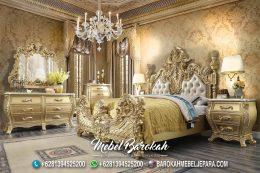 Desain Tempat Tidur Klasik Ukir Terbaik MB-704