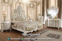 Set Tempat Tidur Raja Putih Mutiara MB-706