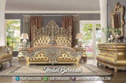 Tempat Tidur Klasik Ukir Jepara Mewah MB-715