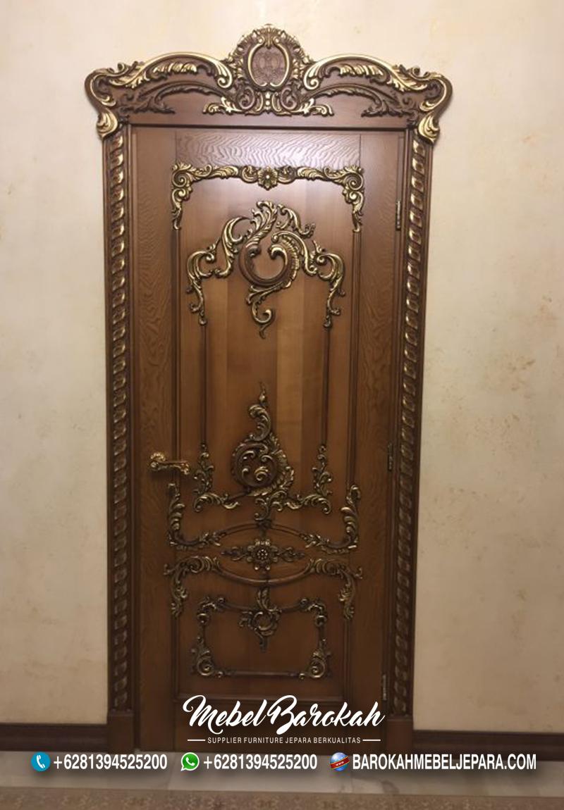 Best Model Kusen Pintu Ruangan Full Ukir MB-759