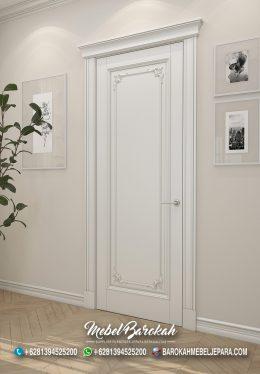Kusen Pintu Kamar Hotel Putih Polos MB-764