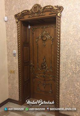 Pintu Ukir Kamar Sultan Rumah Klasik Mewah MB-766